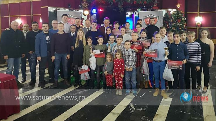 Cei mai buni judoka de la CSM Satu Mare - CS Fuşle Security au fost premiați