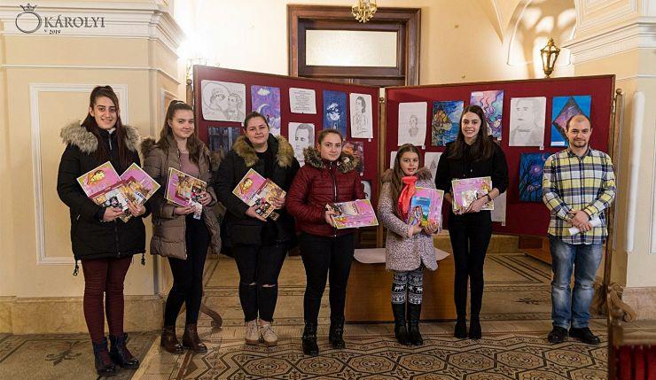 Elevii din Tășnad, cei mai talentați la desen