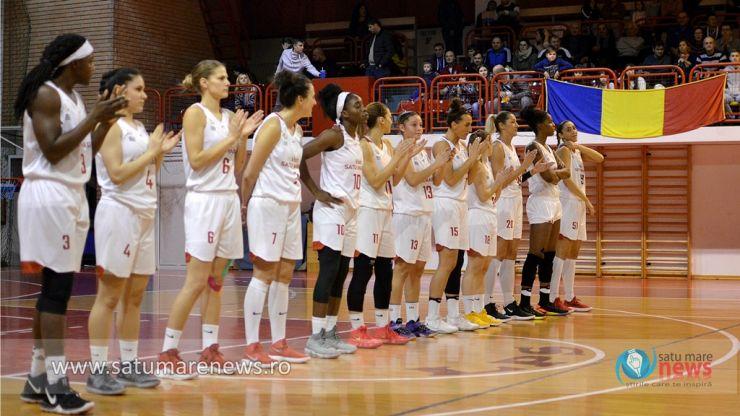 Baschet feminin | CSM Satu Mare a învins Olimpia CSU Brașov