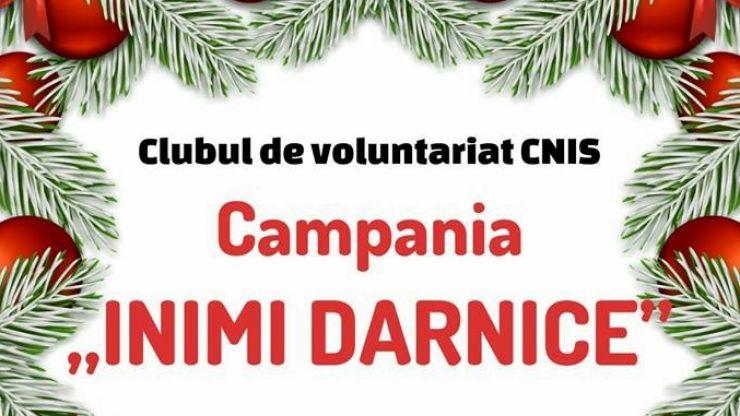 """Campania """"Inimi darnice"""", demarată de Clubul de voluntariat al Colegiului Național """"Ioan Slavici"""", continuă colectarea de donații"""