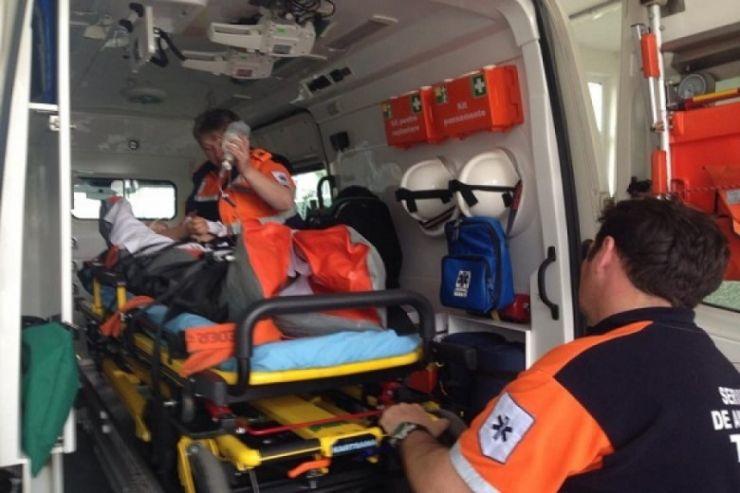 Două persoane au ajuns în stare gravă la spital, în urma unui accident produs la Odoreu