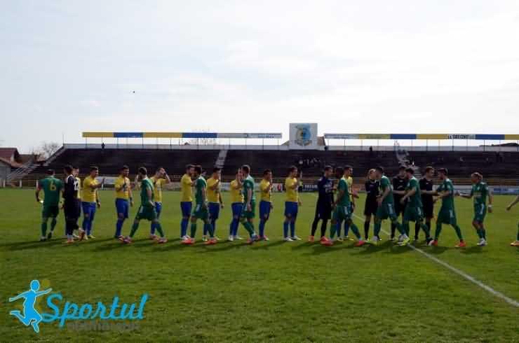Fotbal. Liga a II-a: CS Mioveni 2 - 2 FC Olimpia Satu Mare