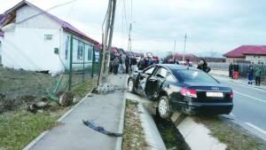 Coliziune în lanţ în Bihor. O sătmăreancă a ajuns la spital