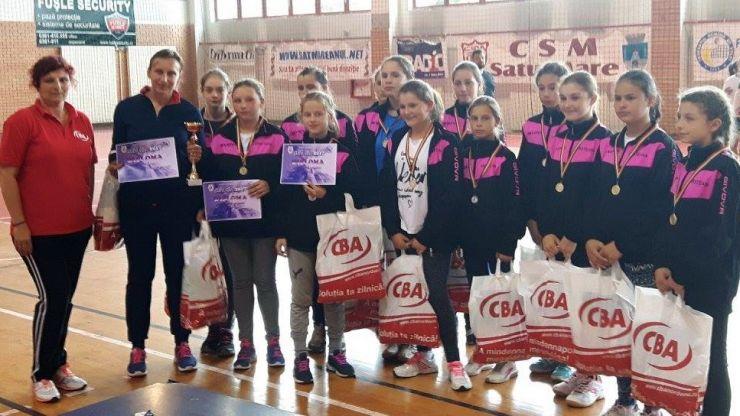 Ediție reușită a turnelului internațional de handbal Cupa CBA 2017