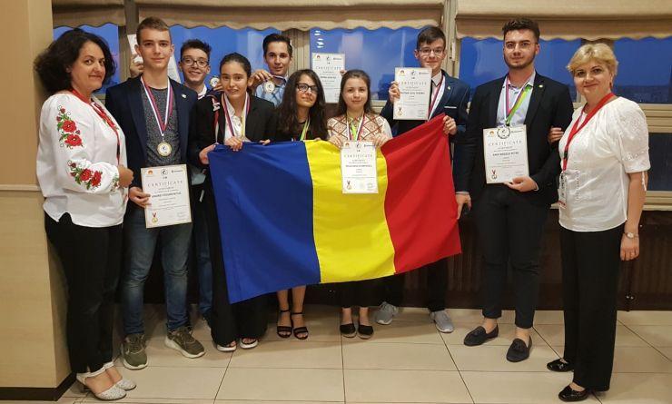Elevul Liviu Terebeș a obținut medalie de aur la Olimpiada Internațională de Geografie pentru Europa Centrală, de Sud și Sud-Est