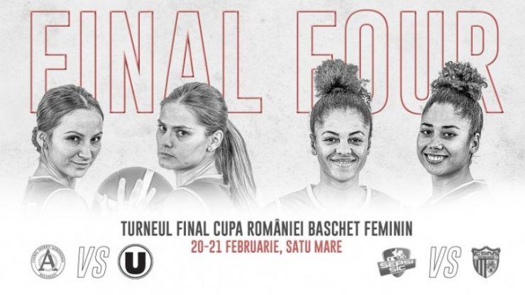 Baschet | CSM Satu Mare luptă pentru Cupa României