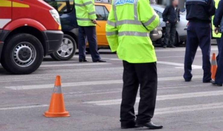 Accident pe Drumul Careiului. Tânăr lovit de o maşină pe trecerea de pietoni