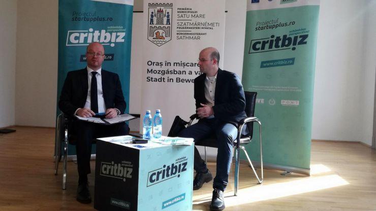 Programul CRITBIZ a fost lansat astăzi la Satu Mare