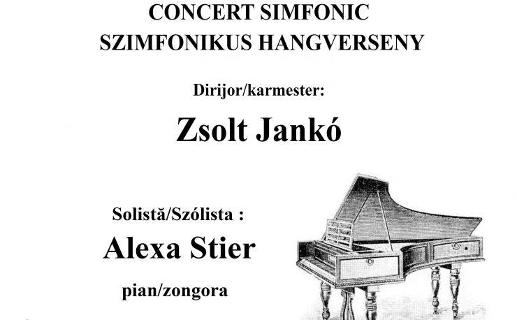 "Concert simfonic joi, la Filarmonica ""Dinu Lipatti"""