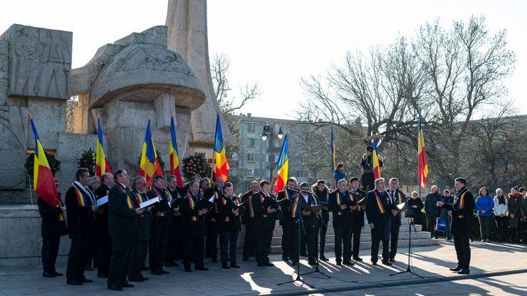 Moment solemn și manifestări culturale organizate la Carei, cu ocazia Zilei Naționale a României