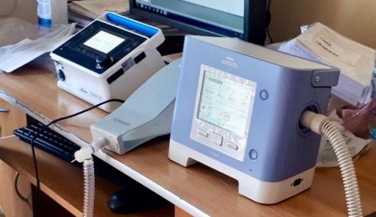 Spitalul de Pneumoftiziologie Satu Mare a fost dotat cu 6 aparate de ventilație non-invazivă