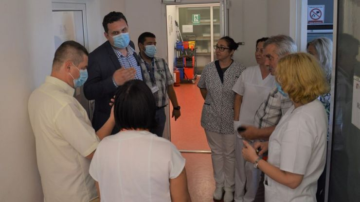 Laboratorul de testare COVID-19, dotat cu 4.800 de kituri de teste pentru depistarea infecției cu coronavirus