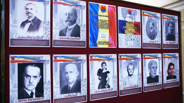 """Proiectul """"Români care au scris istorie"""" continuă cu expoziția """"Mari Arhitecți Români"""", la Castelul din Carei"""