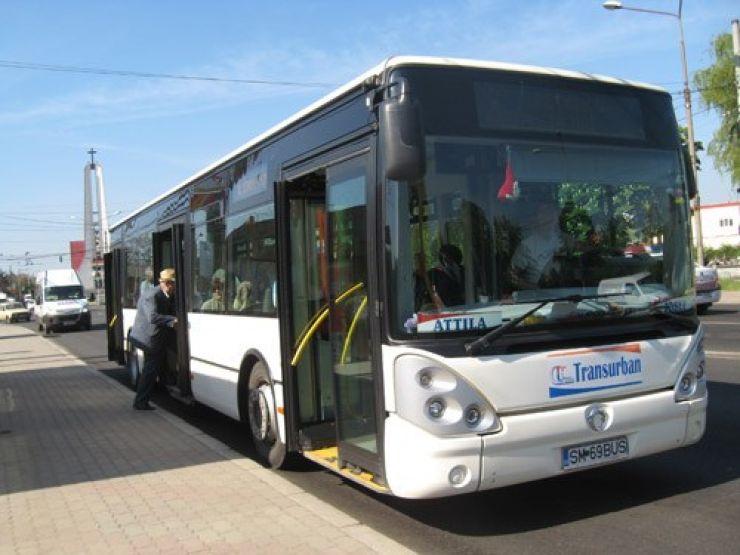 Stație de autobuz înființată la marginea municipiului Satu Mare