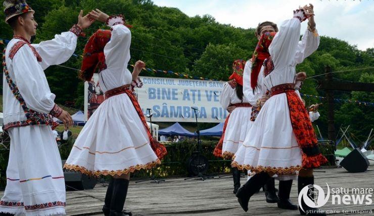 Praznic tradițional la Călinești Oaș