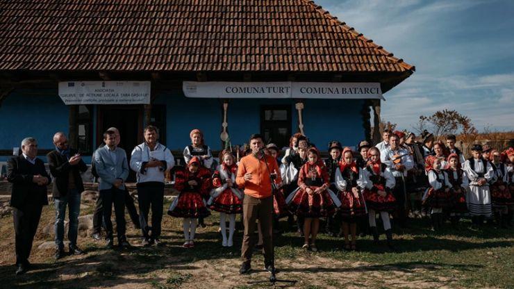 Deputatul Adrian Cozma a sărbătorit ziua recoltei la Turț