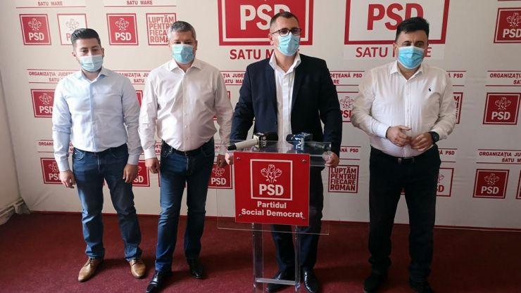 PSD Satu Mare a prezentat candidații pentru alegerile parlamentare