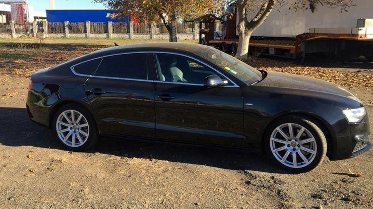 Mașină furată din Olanda, oprită la PTF Petea