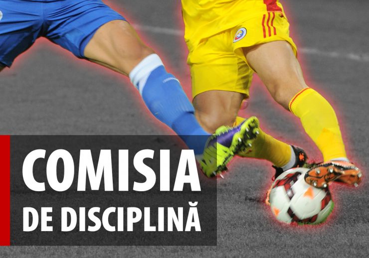 Liga 2 | Portarul Olimpiei, amendat și suspendat de FRF