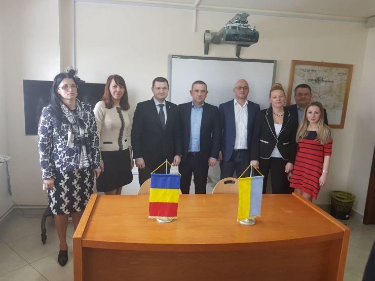 Colaborare între polițiștii sătmăreni și cei din Ucraina
