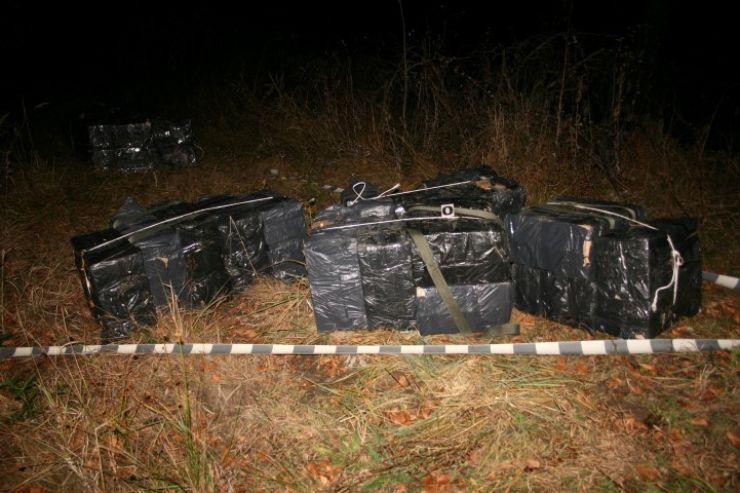 Ţigări în valoare de peste 350.000 lei, confiscate la frontiera româno-ucraineană