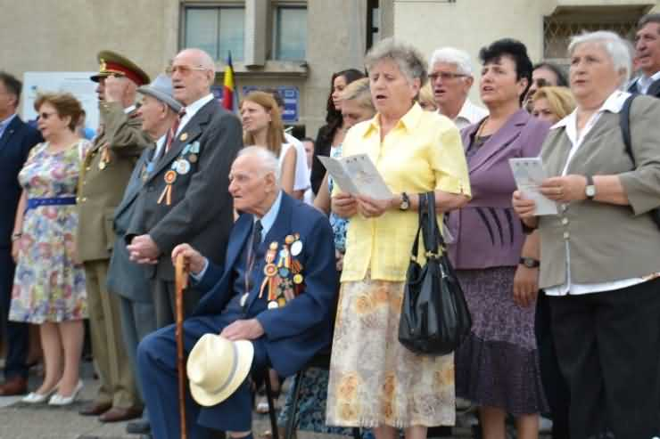 Ziua Imnului, marcată astăzi la Satu Mare și Carei (foto)