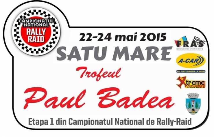 Trofeul PAUL BADEA. Prima etapă a Campionatului Naţional de Rally Raid la Satu Mare