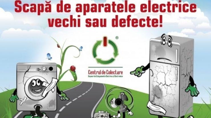Acțiune de colectare gratuită a deșeurilor electrice și electronice