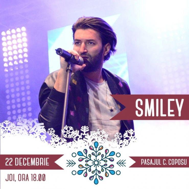 Smiley concertează la Târgul de Crăciun din Satu Mare