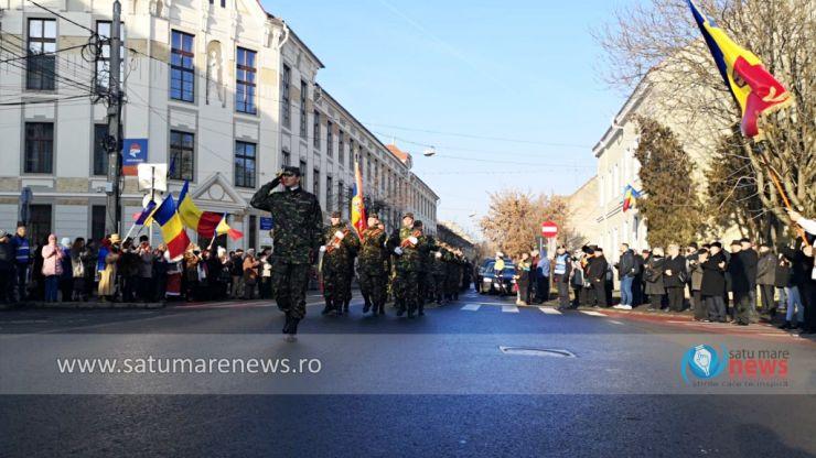 Ziua Unirii Principatelor Române, sărbătorită la Satu Mare