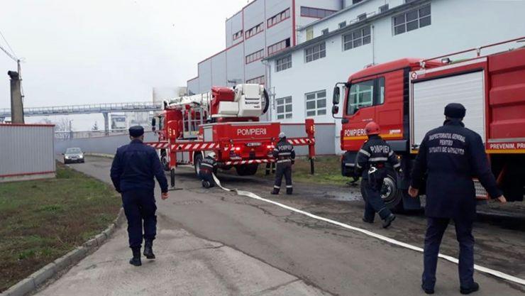 Exercițiu | Explozii și incendii la o fabrică din județ