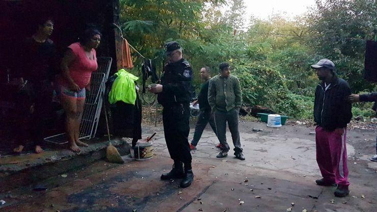 Boschetarii din zona Ștrandului vechi, evacuați