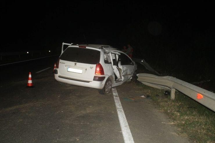 Doi sătmăreni, răniți într-un accident în Sărmășag