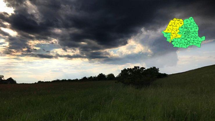 ANM | Satu Mare se află sub cod galben de ploi