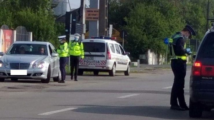 Localitățile cu incidența mai mare de 1,5, verificate de polițiști