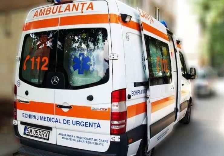 Accident la Târșolț. Un bătrân a ajuns în stare gravă la spital