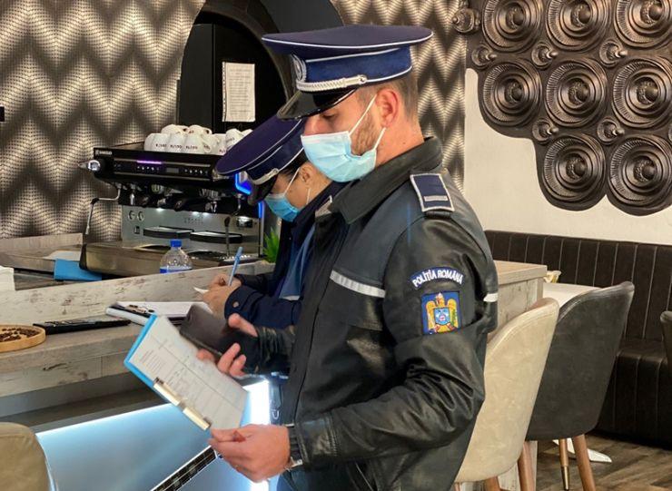 Polițiștii sătmăreni au verificat clienții localurilor din Satu Mare