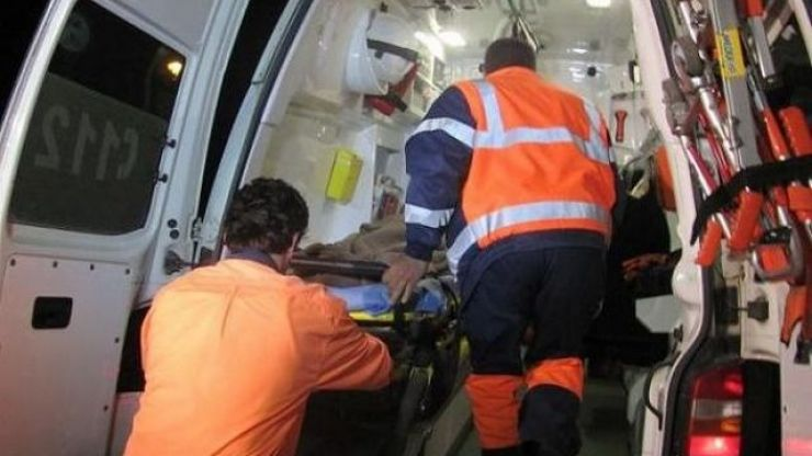 Bătrân accidentat pe strada Sănătății din municipiu