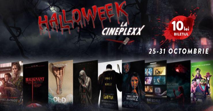 Cinefilii au Halloween de 10 doar la Cineplexx Satu Mare