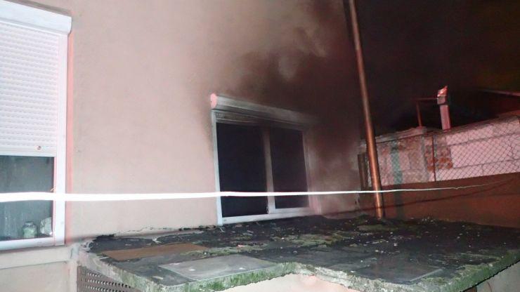 Incendiu la o casa din Satu Mare