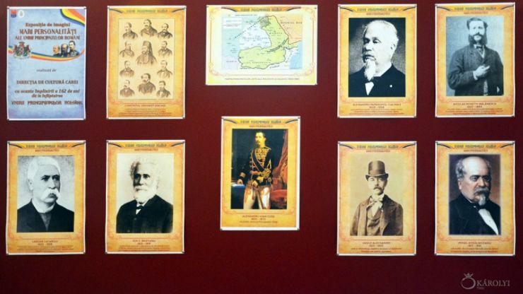 "Expoziție | ""Mari personalități ale Unirii Principatelor Române"", la Castelul Károlyi"