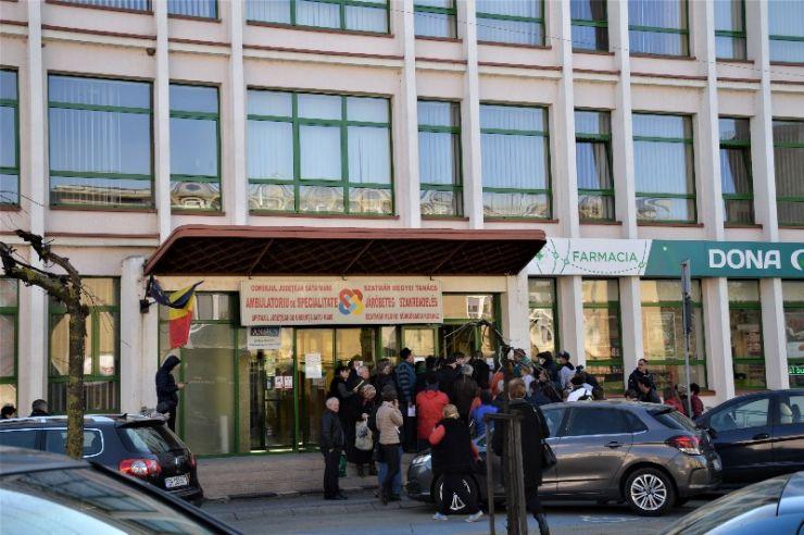 UPDATE A fost remediată defecțiunea la cablurile telefonice din cadrul Policlinicii Vechi