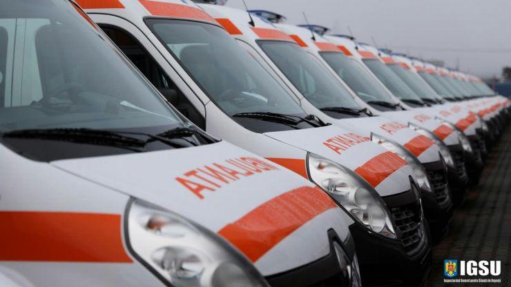 Satu Mare primește cinci ambulanțe noi