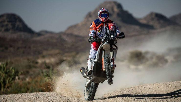 Dakar 2021 | Mani Gyenes, lider la Clasa Malle Moto, după prima etapă