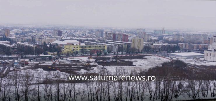 Cel mai mare proiect fotografic din Satu Mare. Construcția mall-ului Shopping City Satu Mare în peste 1500 de imagini