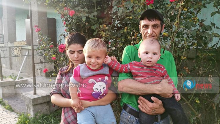 """Ana, Sorin și cei doi micuți s-au mutat în noua casă: """"Suntem cei mai fericiți și norocoși oameni datorită domnului Mihai!"""""""