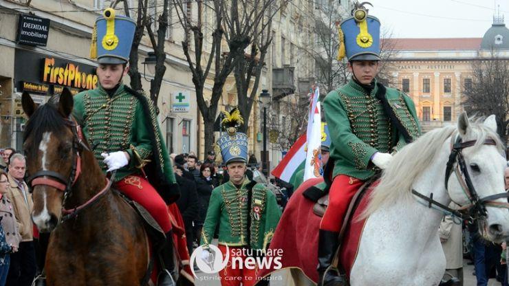 Jandarmii sătmăreni, ajutați de cei clujeni, vor asigura liniștea publică de Ziua maghiarilor