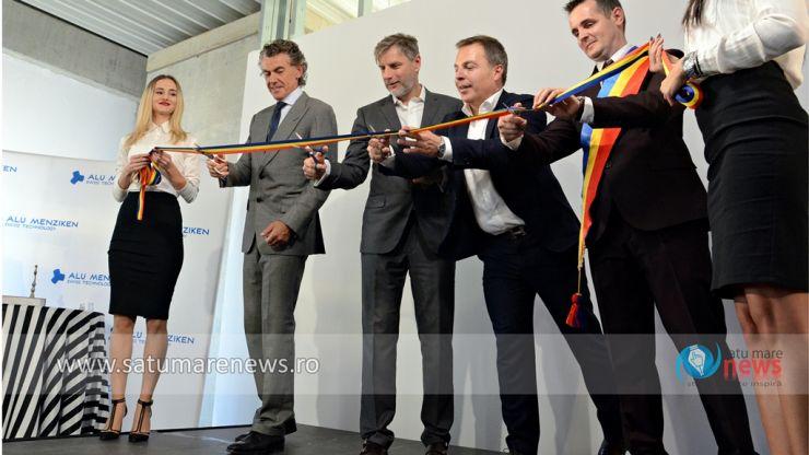 Inaugurare | Elvețienii de la Alu Menziken au inaugurat cea mai modernă fabrică din județul Satu Mare