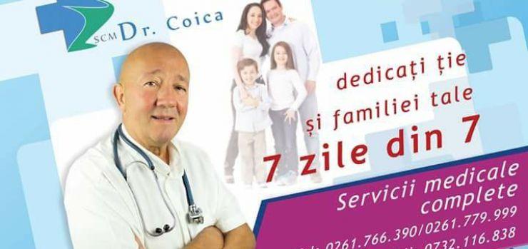 Consultații medicale de specialitate la Cabinetele dr. Coica