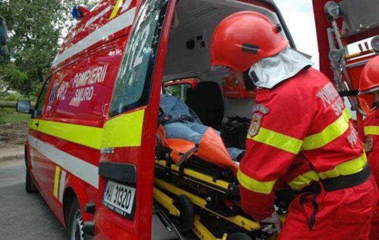 Fetiță de 3 ani, accidentată la Livada